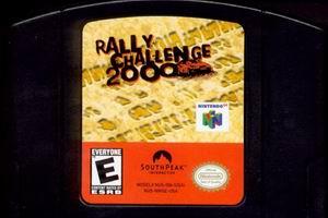 Rally Challenge 2000 (USA) Cart Scan